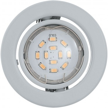 Downlight LED Compatible 9cm Pack of 3 White IP44  9cm