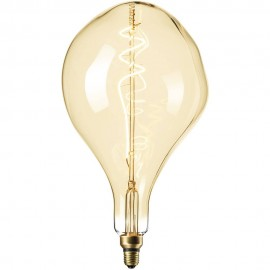 Calex XXL Organic LED Lamp 240V 6W 300lm E27 PS165, Gold 2200K dimmable