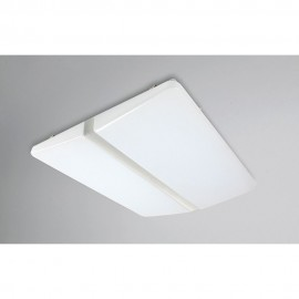 Flush LED Ceiling Light 90cm