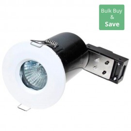 White IP65 IP65 Fixed Downlight LED Compatible 8.6cm