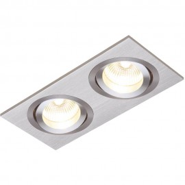 Aluminium Tilt Downlight LED Compatible 17.5cm