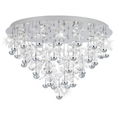 Pianopoli Flush Ceiling Light 78cm