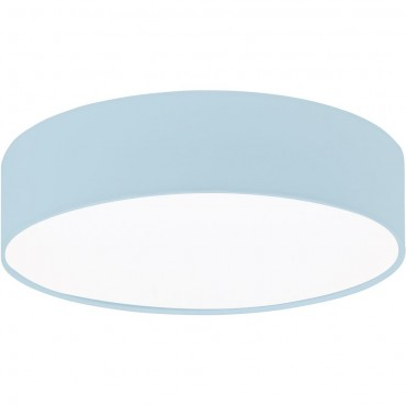 Flush Fabric Ceiling Light 38cm