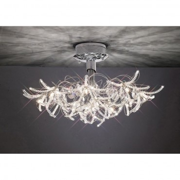 Wisteria close fit ceiling light 66cm close fit ceiling light 75cm aloadofball Image collections