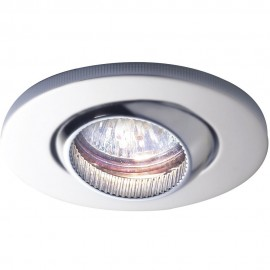 Eon Fire Rated Low Voltage Downlight IP65 Adjustable Satin Chrome