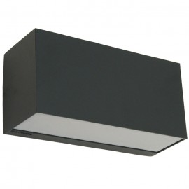 Outdoor Up/Down Black Wall Light