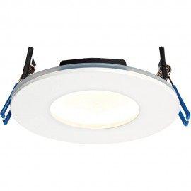 White Low Profile IP65 Downlight Warm White LED Integrated 11cm