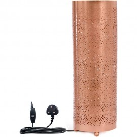 Rose Gold Table Lamp 52cm