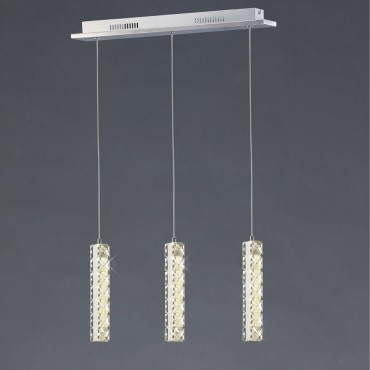 Cluster LED Pendant Bar 50cm