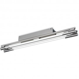 Stainless Steel Twin Strip Light 65cm