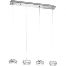 Corliano Cluster LED Pendant Bar 91cm