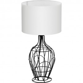 Wire cage design table lamp 445cm keyboard keysfo Choice Image