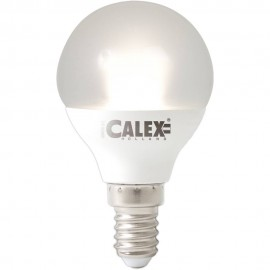 Calex Satin Crystal LED Ball lamp 240V 5,5W 380lm E14 P45, 2000-2700K Variotone