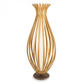 Bamboo LED Floor Lamp 130cm