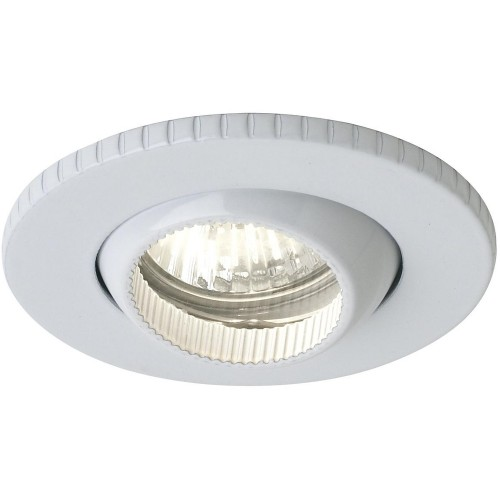 Eon Fire Rated Low Voltage Downlight IP65 Adjustable White