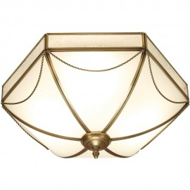 Russell Flush Ceiling Light
