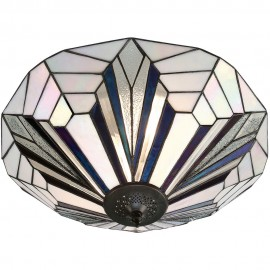 Tiffany Flush Ceiling Light 48cm