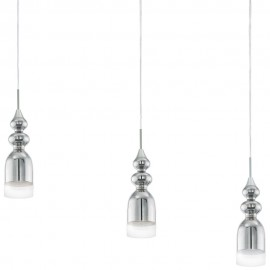 LED Pendant Bar Cluster 72cm