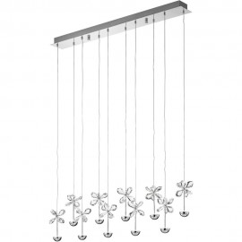 Pianopoli Cluster LED Pendant Bar 87cm