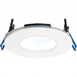 White Low Profile IP65 Downlight Cool White LED Integrated 11cm