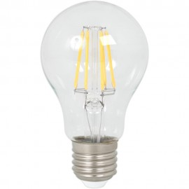 Calex LED Full Glass Filament GLS-lamp 240V 4W 400lm E27 A60, Clear 2700K CRI80