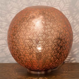 Rose Gold Table Lamp 40cm