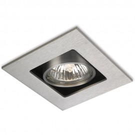 Square Tilt Downlight LED Compatible 10cm