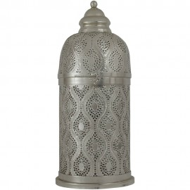 Silver Table Lamp 62cm