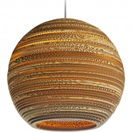 Moon Pendant Light 45cm
