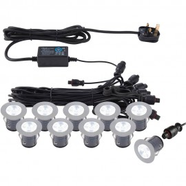 Outdoor LED Ground Light Kit 3.5cm