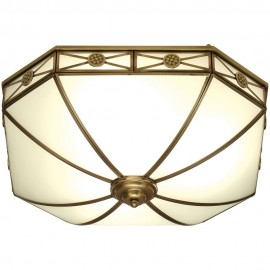 Bannerman Flush Ceiling Light