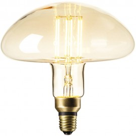 Calex XXL Calgary LED Lamp 240V 6W 600lm E27 MS195, Gold 2200K dimmable