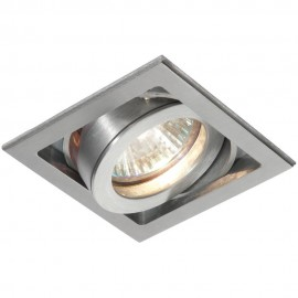 Aluminium Tilt Downlight LED Compatible 9cm