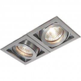 Aluminium Tilt Downlight LED Compatible 16.8cm