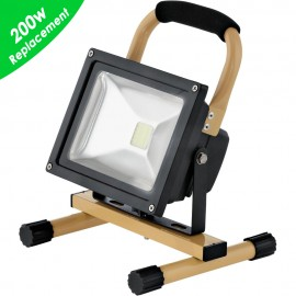 Outdoor 20w LED Cool White Floodlight 22.5cm