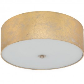 Flush Fabric Ceiling Light 47cm