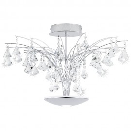 Miramas Close-Fit LED Ceiling Light 66cm