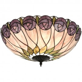 Tiffany Flush Ceiling Light 50cm