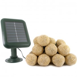 Everbright Solar Hessian Lights
