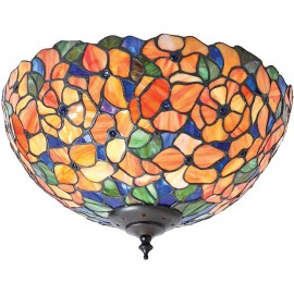 Tiffany Flush Ceiling Light 35cm
