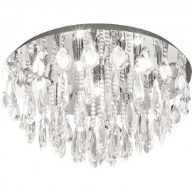 Calaonda Flush Ceiling Light 58cm
