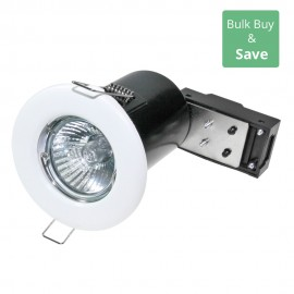 White Fixed Downlight LED Compatible 8.6cm