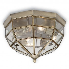 Norma Flush Ceiling Light 26cm