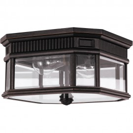 Outdoor Flush Porch Light 29.2cm