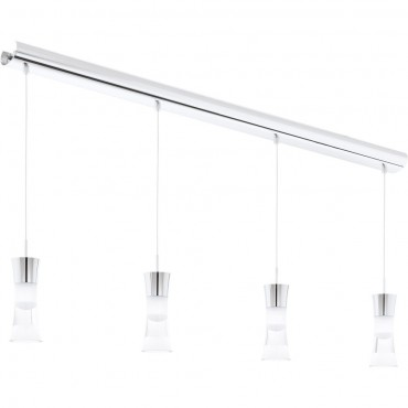 Cluster LED Pendant Bar 103cm