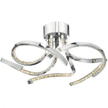 LED Flush Ceiling Light 56cm