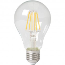 Calex LED Full Glass Filament GLS-lamp 240V 8W 1050lm E27 A67, Clear 2700K CRI80