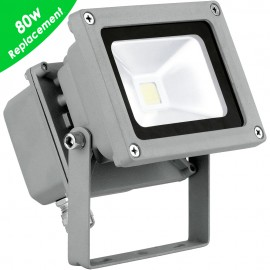 Outdoor 10w LED Cool White Floodlight 11.5cm