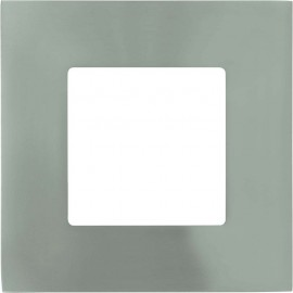 Silver Square LED Fixed Downlight LED Integrated 8.5cm