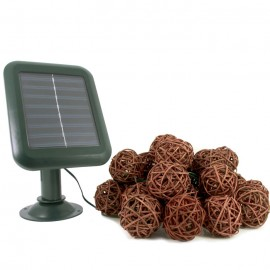 Everbright Solar Rattan Lights
